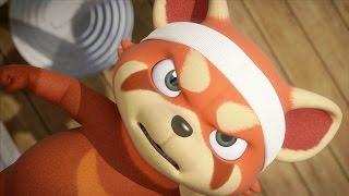 Мультики - Дуда и Дада - Чуку против Скотта! Великая битва - Красная панда VS Кот thumbnail