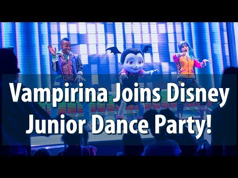 First Day: Vampirina in Disney Junior Dance Party! at Disney California Adventure -Disneyland Resort