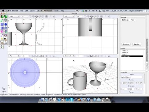 0 - 3D-Software: Art of Illusion