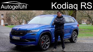 Skoda Kodiaq RS FULL REVIEW vRS - Autogefühl