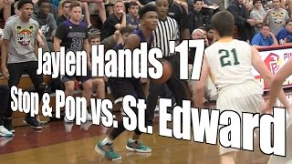 Jaylen Hands '17 Stop & Pop vs. St. Edward, UA Holiday Classic Semifinal, 12/29/16