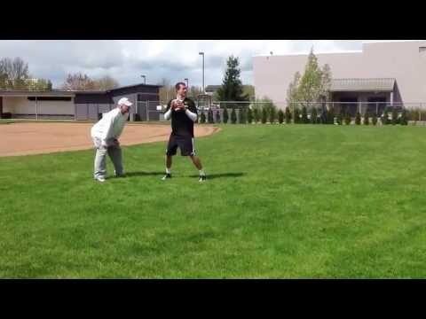 Thomas Hamilton quarterback workout with Chris Miller
