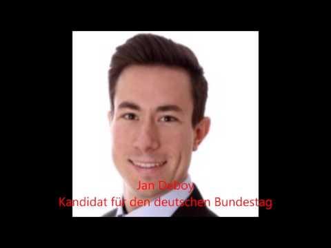 Bundestag Kandidat Jan Deboy