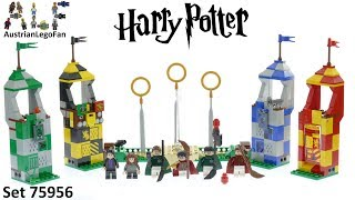 Lego Harry Potter 75956 Quidditch Match - Lego Speed Build Review