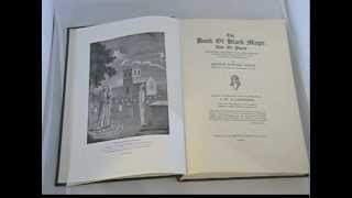 BOOK of BLACK MAGIC and PACTS Waite OCCULT GRIMOIRE SORCERY RITUAL WITCHCRAFT