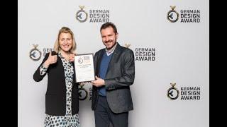Relacja z Gali German Design Award 2020 - nagroda dla polskiej pracowni Viva Design z Rzeszowa