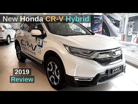 New Honda CR-V Hybrid 2019 Review Interior Exterior