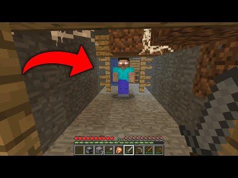 Я смог найти логово Herobrine в этом мире! (Minecraft 404 Seed)