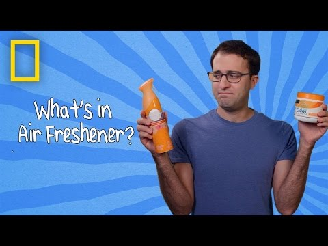 What's in Air Freshener? | Ingredients With George Zaidan (Episode 6)
