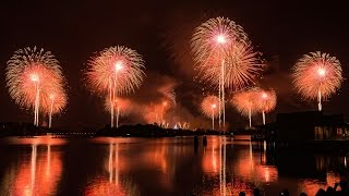 New Years Eve Fireworks 2015/2016 Walt Disney World Magic Kingdom AWESOME