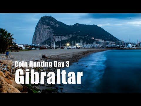 Gibraltar Coin Hunting 3-Part 1 - Travel Vlog