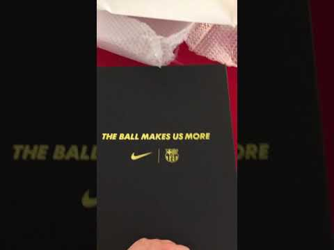 691149dd743 FCBarcelona x Nike 20th Anniversary VaporKnit Official Jersey Review ...