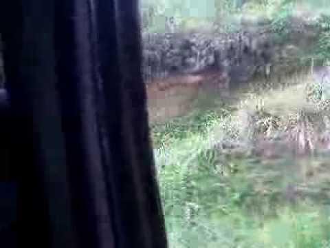 Bus trip from Bukittinggi to Lake Maninjau