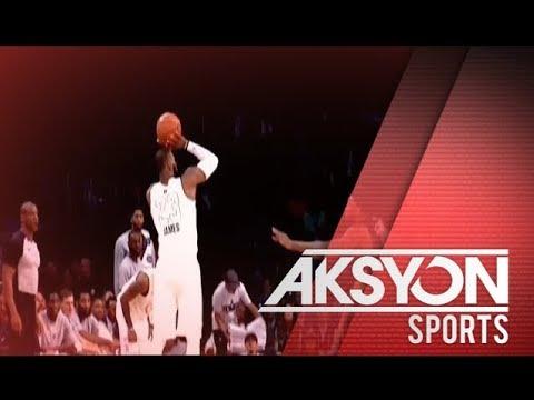 LeBron James, nakuha ang ikatlo niyang MVP award sa NBA All-Star