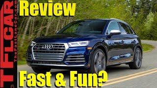 2018 Audi SQ5 0-60 MPH Review: Fast, Fun and Off-Road Worthy?