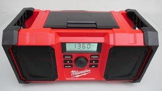 Milwaukee M18 2890-20 (JSR) строительное радио -  простенький обзор