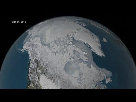 Record Low Arctic Sea Ice Maximum - 2016