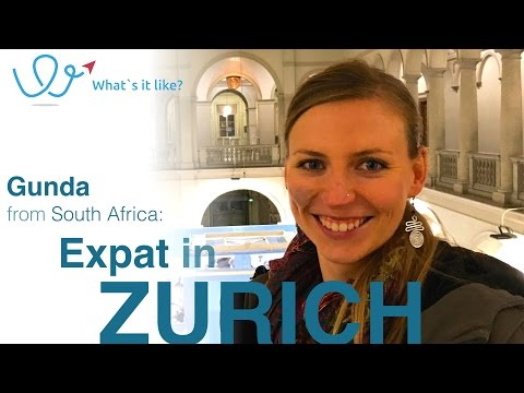 Living in Zurich - Expat Interview with Gunda (S. Africa) about her life in Zurich, Switzerland