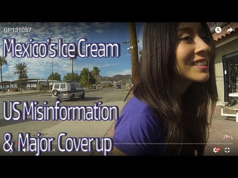 Mexico's Ice Cream & US Customs & Border Protection's Misinformation, Photojournalism, GP131057