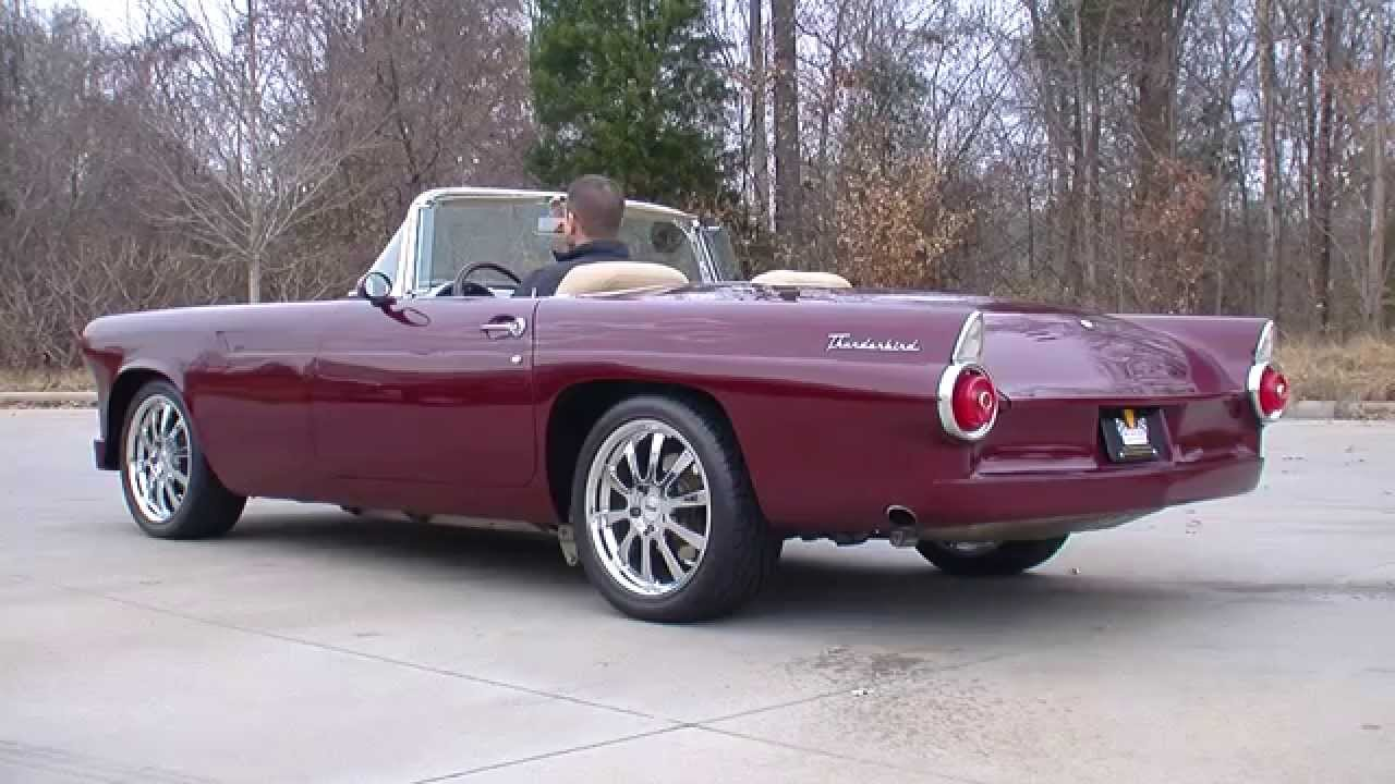 132893 / 1955 Ford Thunderbird on