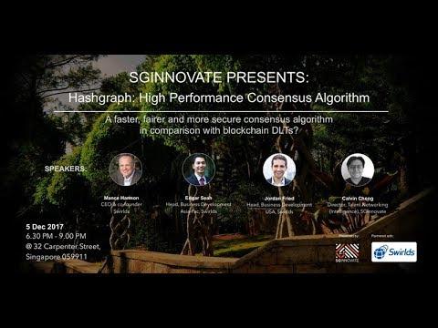 Hashgraph High Performance Consensus Algorithm