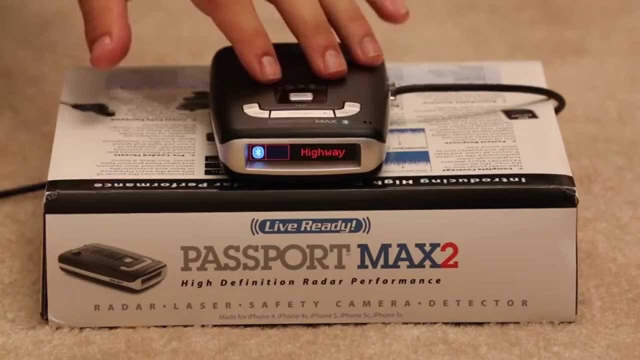 Escort Passport Max >> Escort Passport Max2 Radar Detector Review