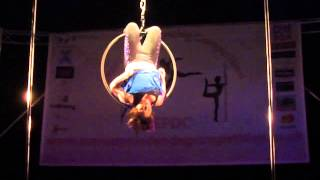 Stacey Snedden - Advanced Hoop Category - Emmas Pole Dancing Competition 2013