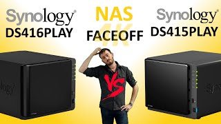 The Synology DS416PLAY versus The Synology DS415PLAY - PLAY Series NAS Comparison