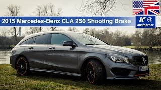 2015 Mercedes Benz CLA 250 4matic Shooting Brake (X117) - Test, Test Drive and In-Depth...