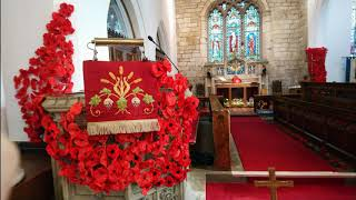 Remembrance Sunday at St Michael's Church 2020