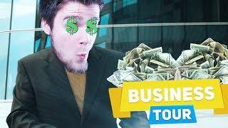 JAK COŚ JEST NOWE, TO WPADAM! | Business Tour [#29] (With: Plaga, Kubson, Dobrodziej)