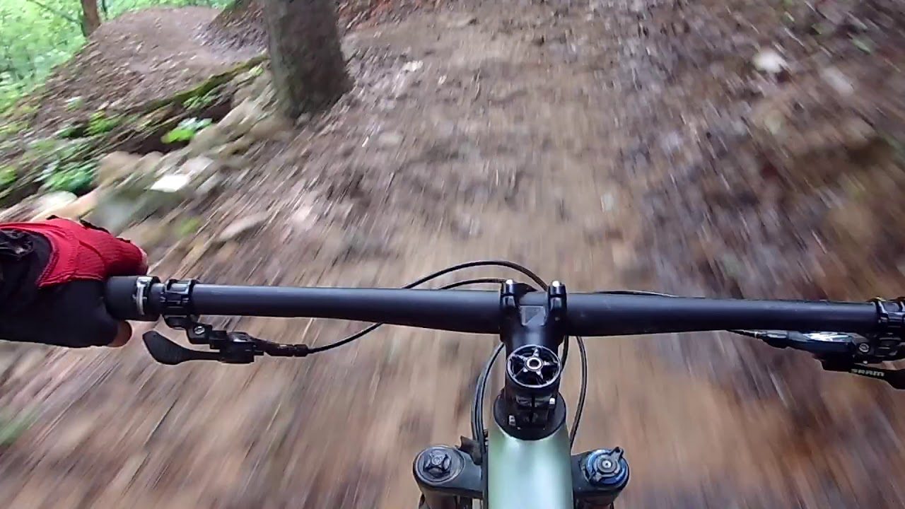 Mountain Bike Trails at Mount Nebo State Park, Arkansas