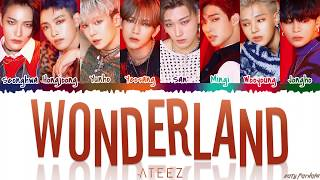ATEEZ (에이티즈) - 'WONDERLAND' [Color Coded_Han_Rom_Eng]