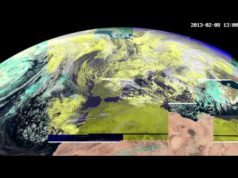 Artificial Weather in 2013  - Massive geo-engineering by the military-industrial complex