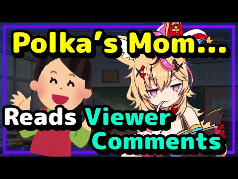【ENG Sub】Omaru Polka - Mom Reads Viewer Comments