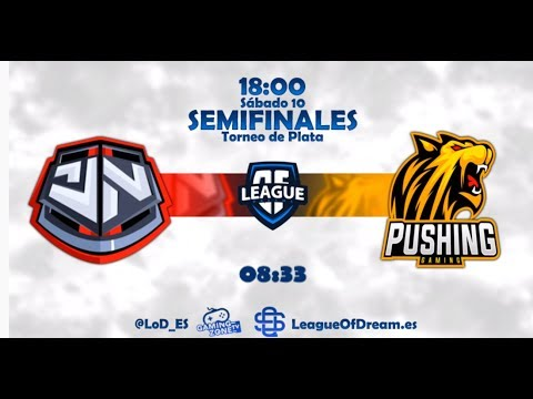 TEAM GENETIC VS PUSHING GAMING | SEMIFINAL |TORNEO PLATA LoD
