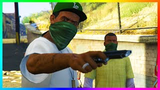 GTA 5 - The Secret Campaign Ending Featuring Lamar Davis That Never Happened Explained! (GTA 5)