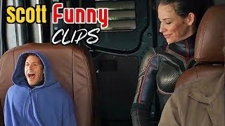 Scott Lang Funny Scenes in Hindi From Ant-man and The Wasp