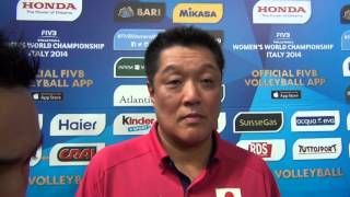 05-10-2014: Manabe Masayoshi nel post Giappone-Rep. Dominicana