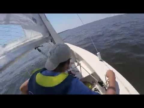 Windmill sailing with gopros