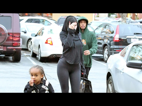 Kylie Jenner And Tyga Take King Cairo To Color Me Mine