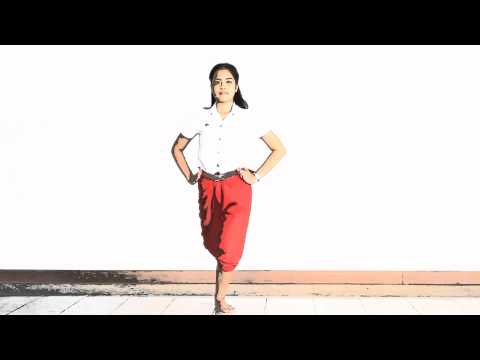 พื้นฐานการเรียนนาฏศิลป์ไทย (ละครนาง) ส่งอาจารย์ขวัญฟ้า ศิวิจารย์