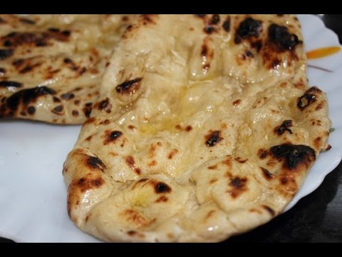 Naan / Butter Naan / Garlic Naan - without oven - Stove top