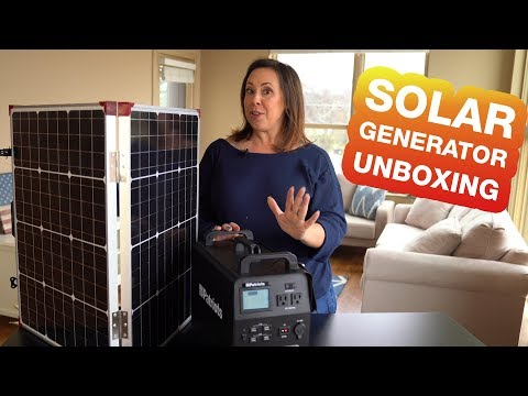 Unboxing the Patriot Power Generator | Solar & Safe to Use Inside