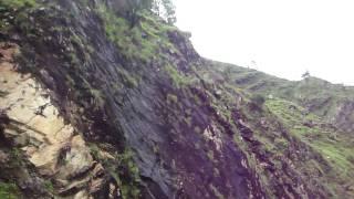 bhalu pahad an amazing mountain made of black rocks syangja nepal