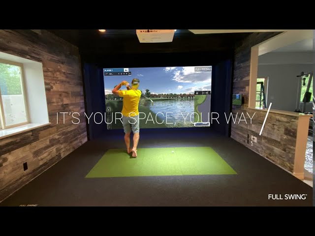 Installing a Golf Simulator in Your Home with Full Swing