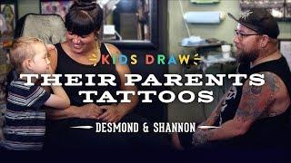 Desmond Designs a Tattoo for His Mom | Kids Draw | Cut