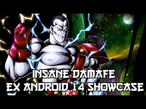 ** PURE POWER! EX ANDROID 14 SHOWCASE! * | ** DRAGON BALL LEGENDS DB LEGENDS *