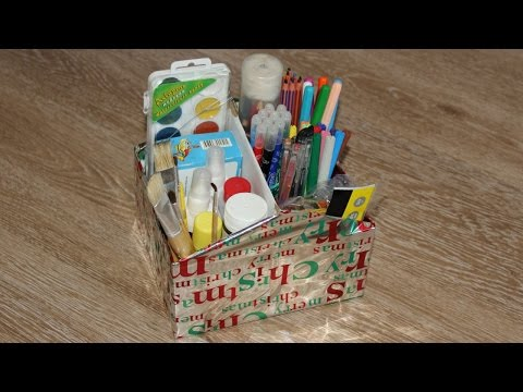 How To Make a Simple Shoe Box Organizer - DIY Home Tutorial - Guidecentral