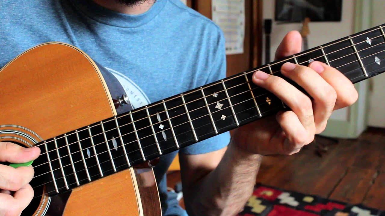 Easy Lead Guitar Lesson Following A Chord Progression Youtube